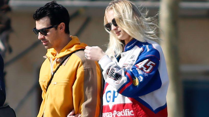 Nach Schwanger-Gerücht: Neue Pics von Sophie und Joe Jonas!