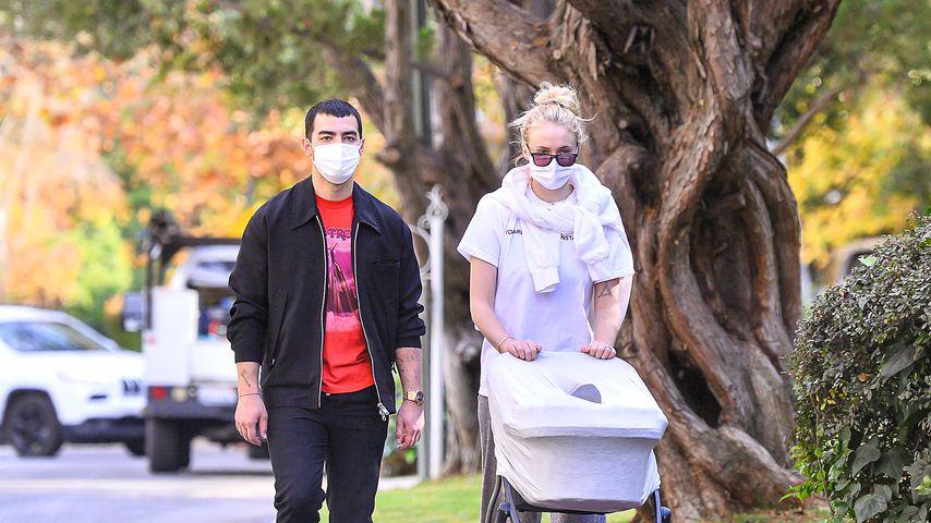 Joe Jonas, Sophie Turner und ihr Baby Willa im Dezember 2020