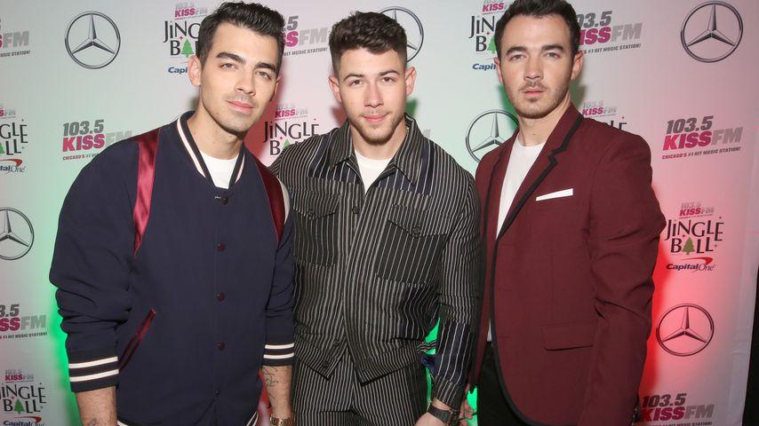 Joe, Nick und Kevin Jonas