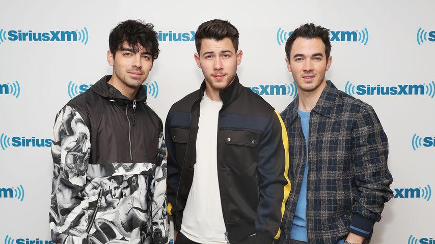 Joe, Nick und Kevin Jonas im März 2018