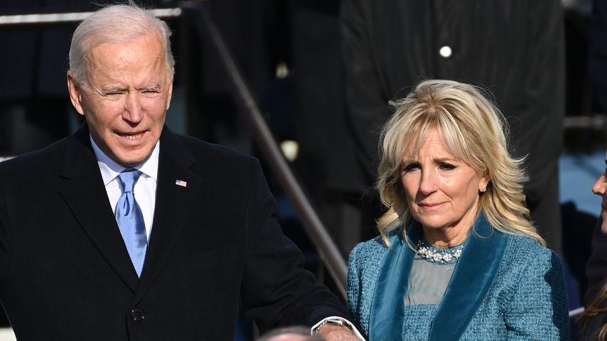Joe und Jill Biden im Januar 2021
