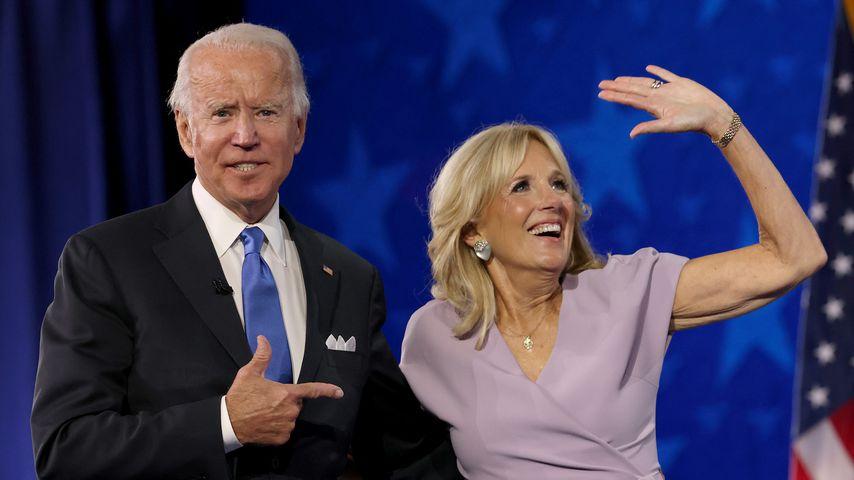 Joe und Jill Biden im August 2020 in Wilmington