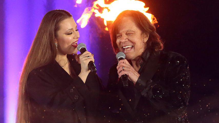 Joelina Drews und Jürgen Drews im Dezember 2020