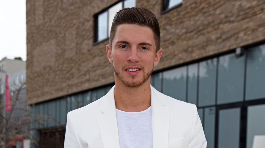 Sänger Joey Heindle im August 2018