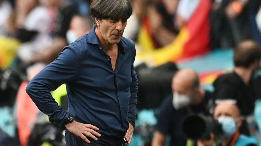 Jogi Löw bei seinem letzten Spiel als Trainer der deutschen Nationalmannschaft