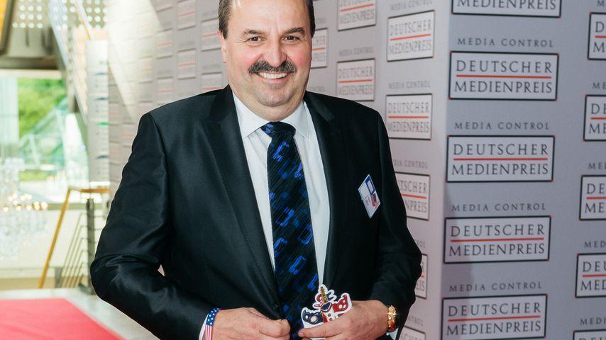 Johann Lafer beim Deutschen Medienpreis 2017