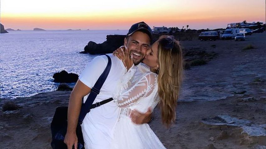 Johannes Haller und Jessica Paszka auf Ibiza