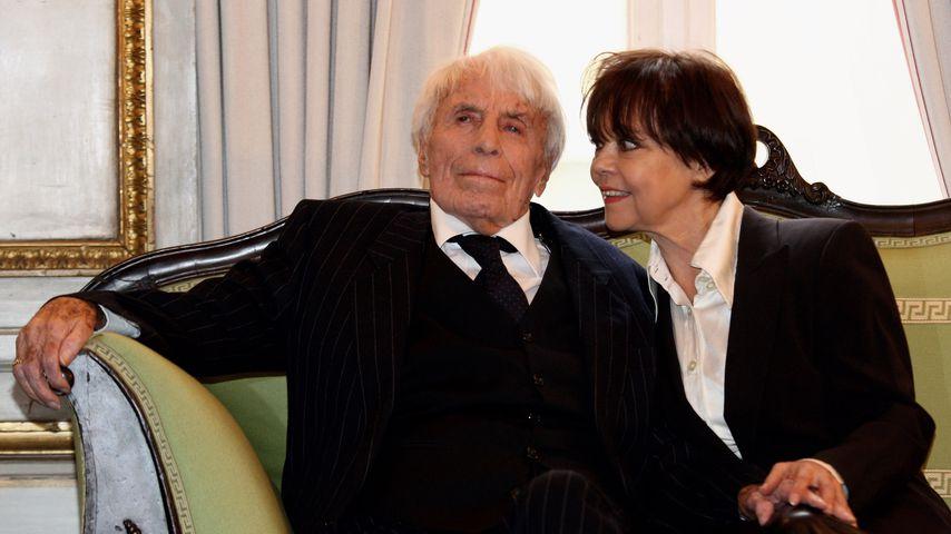 Johannes Heesters und Simone Rethel im Dezember 2009