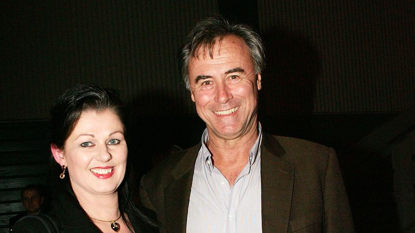 John Alexander Crowe mit seiner Frau