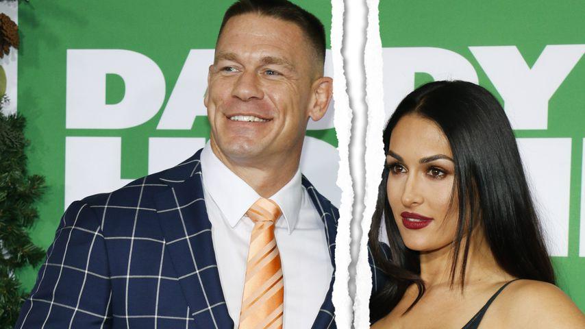 """""""Es ist zu Ende"""": Nikki & John Cenas Liebes-Aus besiegelt!"""