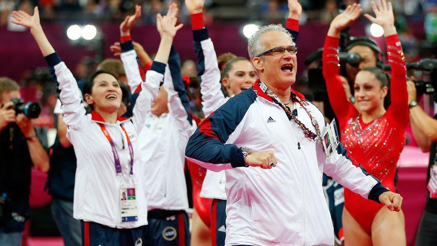 John Geddert bei den Olympischen Spielen 2012 in London