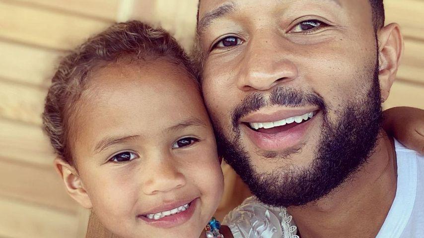 John Legend stolz: Töchterchen Luna schon fünf Jahre alt!