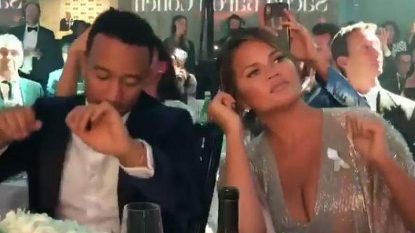 Mit Stil! John Legend & Chrissy Teigen rocken die GQ Awards