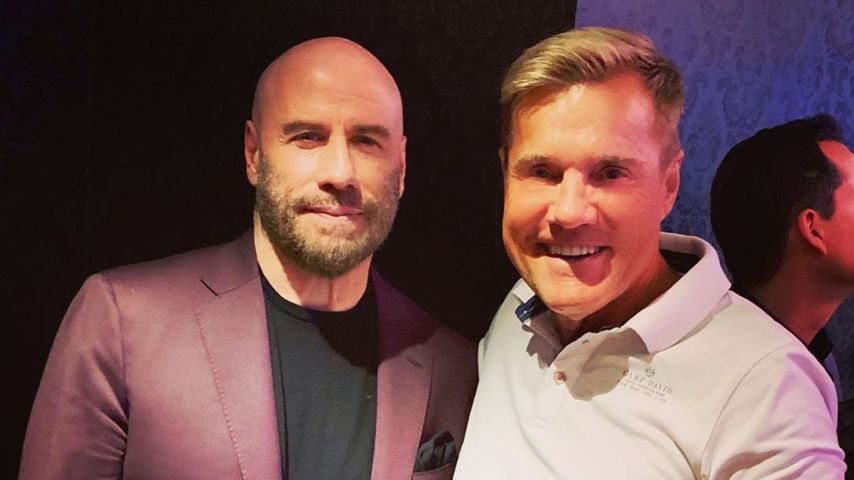 John Travolta und Dieter Bohlen