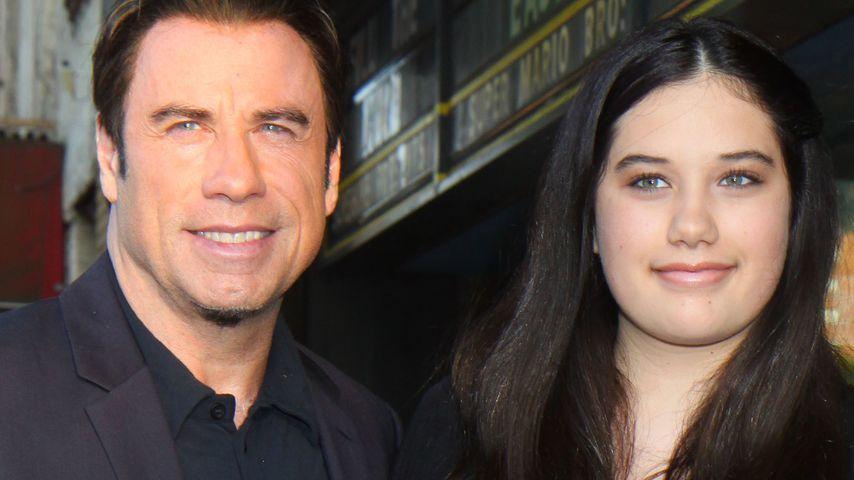 Süß! John Travolta mit Tochter auf dem Red Carpet