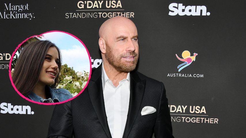 So rührend gratuliert John Travolta Tochter zum Geburtstag