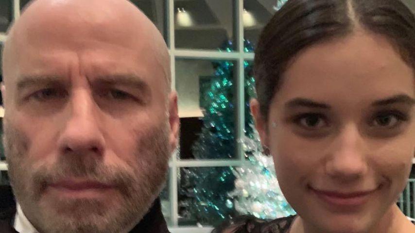 John Travolta und seine Tochter Ella