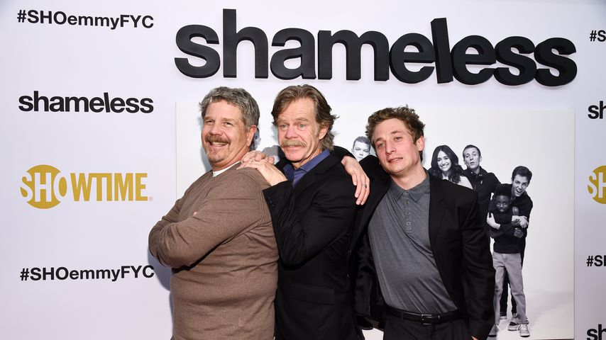 John Wells, William H. Macy und Jeremy Allen White