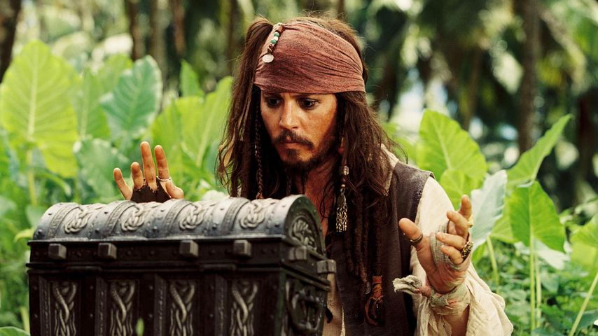 "Johnny Depp als Captain Jack Sparrow in ""Fluch der Karibik 2"""