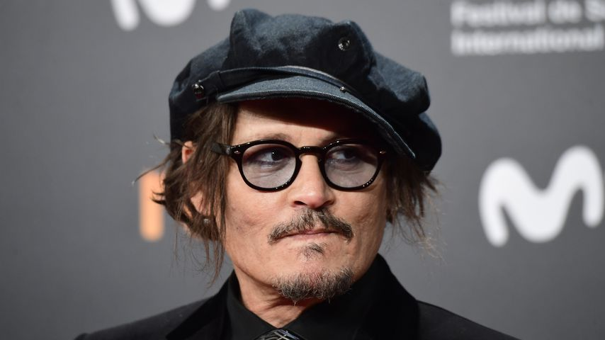 Johnny Depp beim San Sebastián International Film Festival in Spanien, September 2021