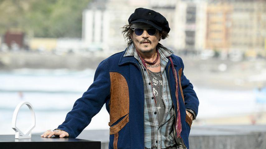 Johnny Depp beim Filmfestival im spanischen San Sebastián, 2021