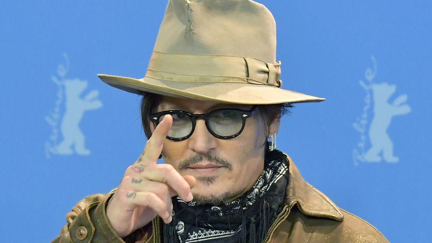 Johnny Depp bei der Berlinale im Februar 2020