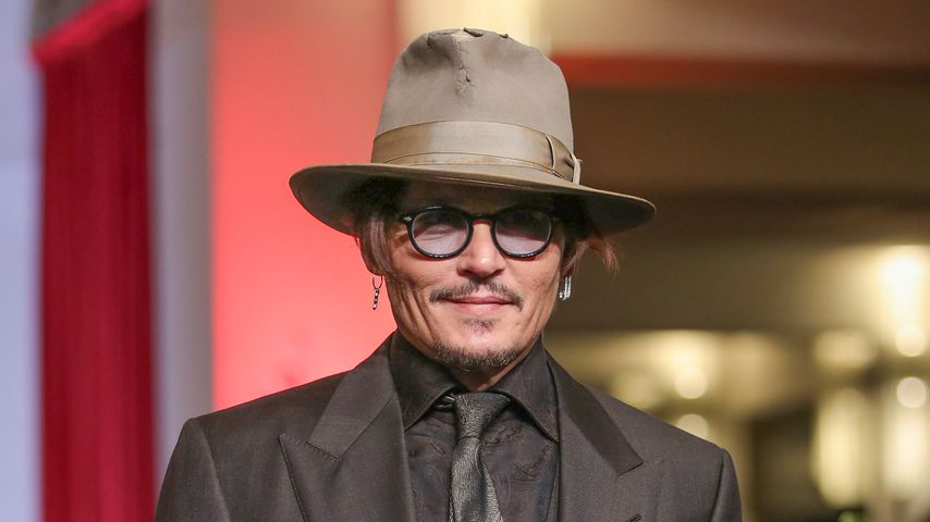 Johnny Depp auf der Berlinale, 2020