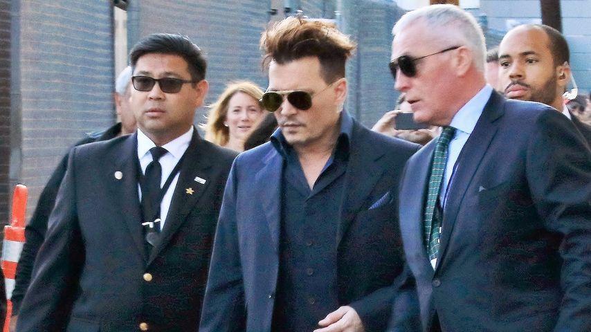 Prügel-Interview: Johnny Depp will seinen Namen reinwaschen