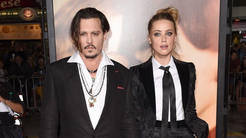 Johnny Depp und Amber Heard, 2015