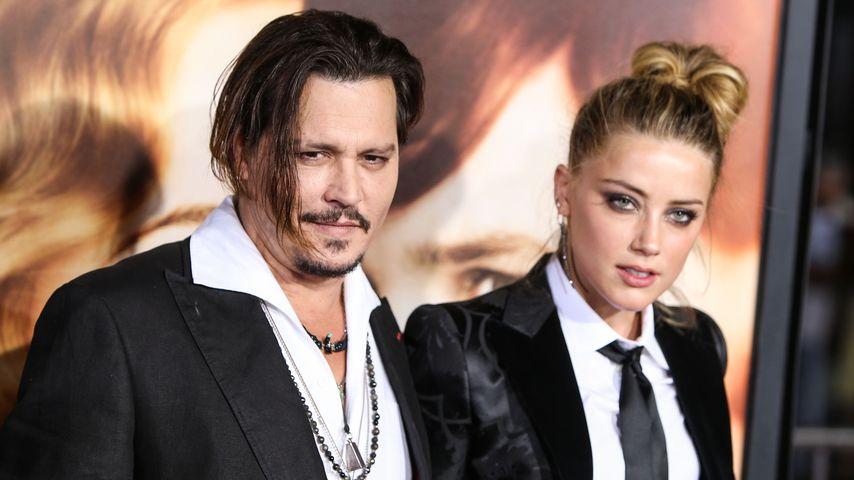 Amber Heard und Johnny Depp in glücklicheren Zeiten