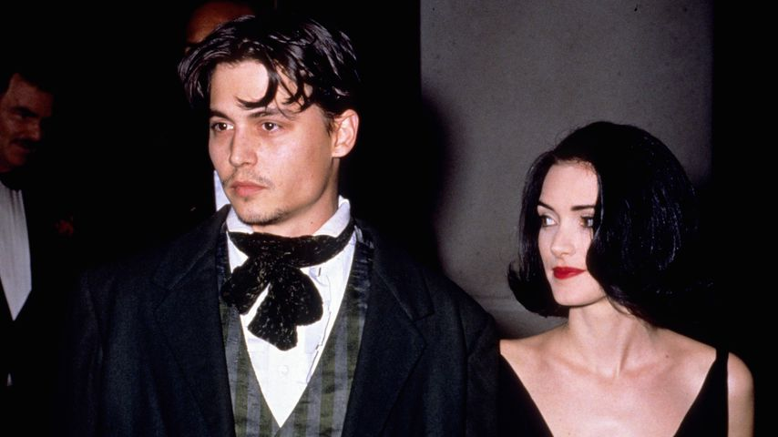 Johnny Depp und Winona Ryder, 1991