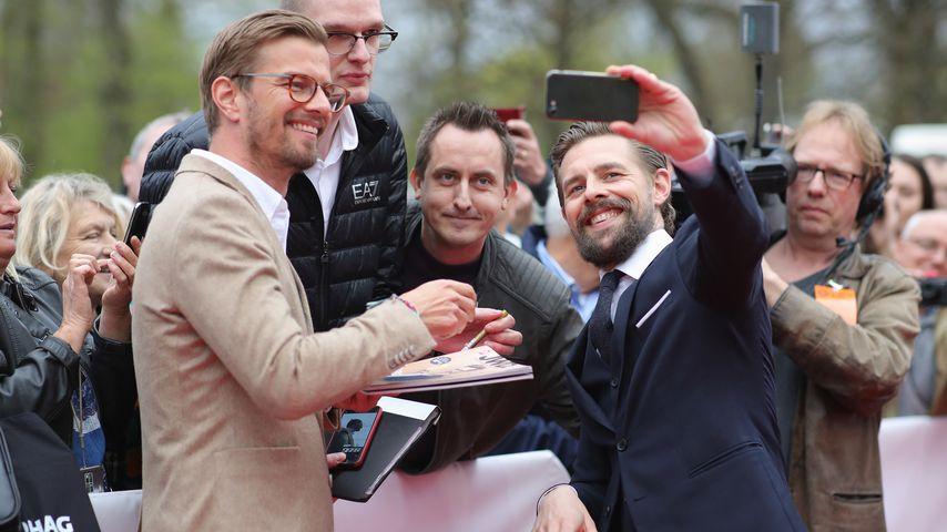 Joko Winterscheidt und Klaas Heufer-Umlauf beim Grimme-Preis 2018