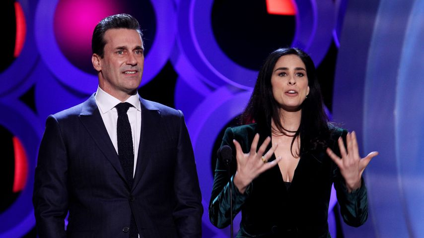 Jon Hamm und Sarah Silverman bei den Film Independent Spirit Awards 2018