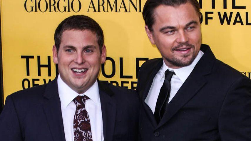 """Jonah Hill und Leonardo DiCaprio bei der Premiere von """"Wolf of Wall Street"""""""