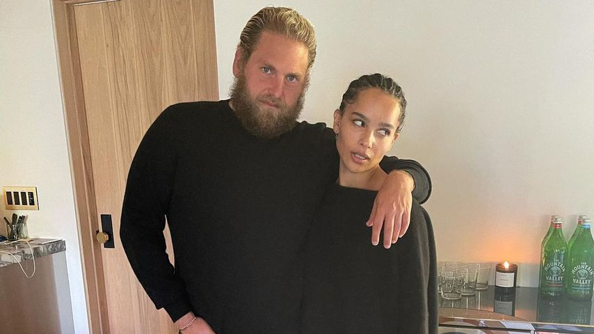 Jonah Hill und Zoe Kravitz