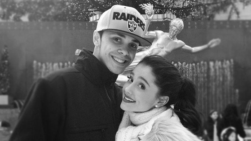 Jordan Viscomi und Ariana Grande