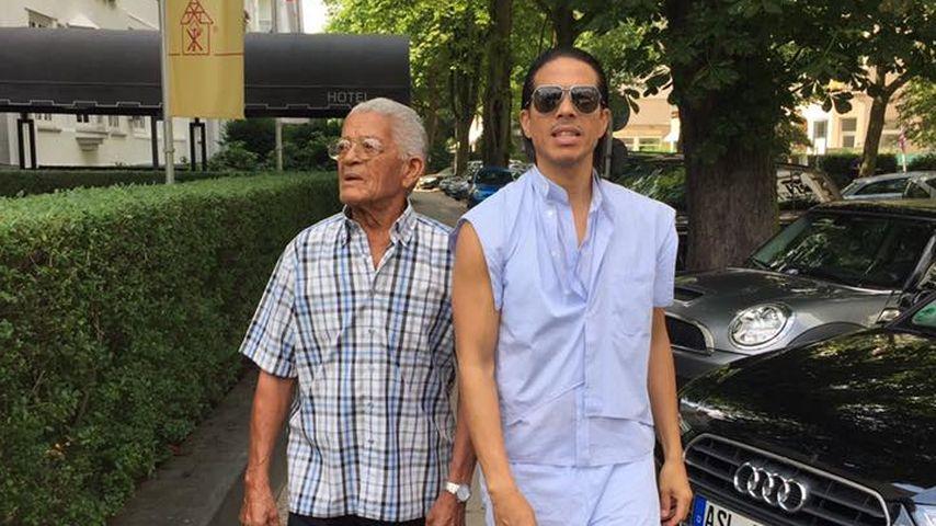 Jorge Gonzalez mit seinem Vater