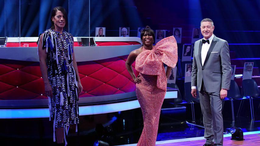 "Jorge Gonzalez, Motsi Mabuse und Joachim Llambi bei ""Let's Dance"""