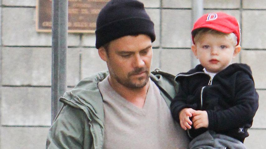 Daddy Cool! Josh Duhamel & Sohn Axl unterwegs im Lässig-Look