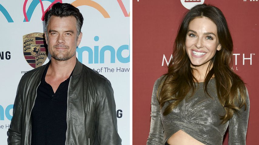Collage: Josh Duhamel und Rebekah Graf