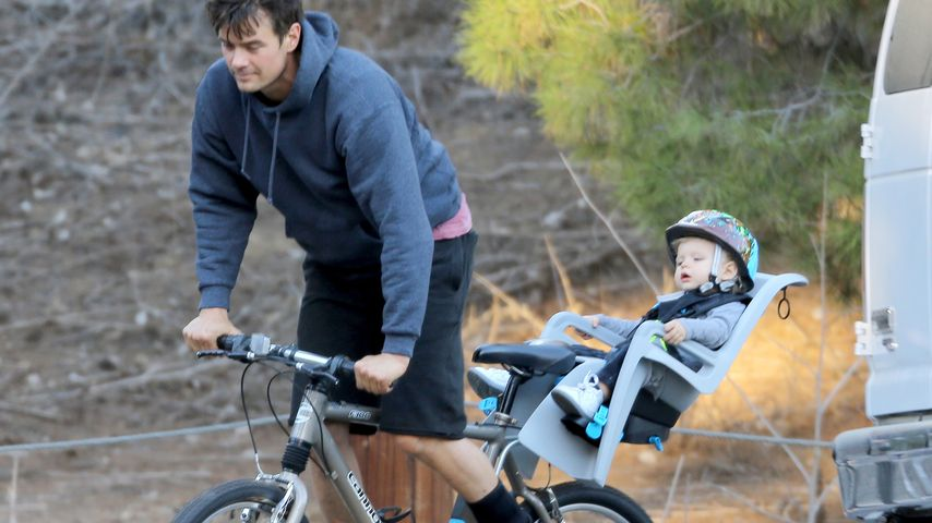 Josh Duhamel: Vater-Sohn-Tag mit dem süßen Axl