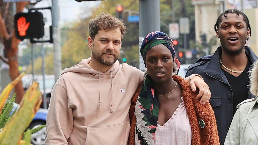Joshua Jackson und Jodie Turner-Smith im März 2020