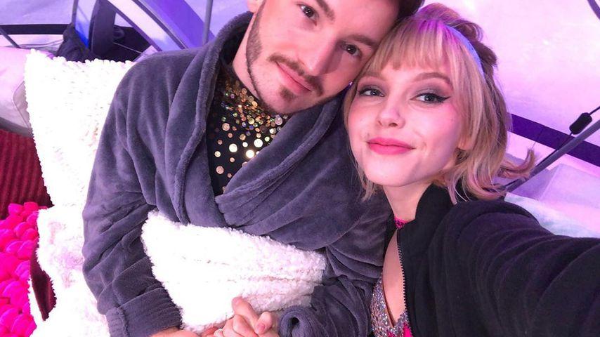 Joti Polizoakis und Lina Larissa Strahl