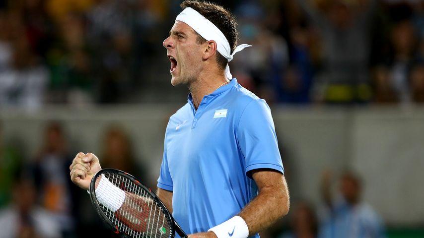 Tennis-Star Juan Martin del Potro