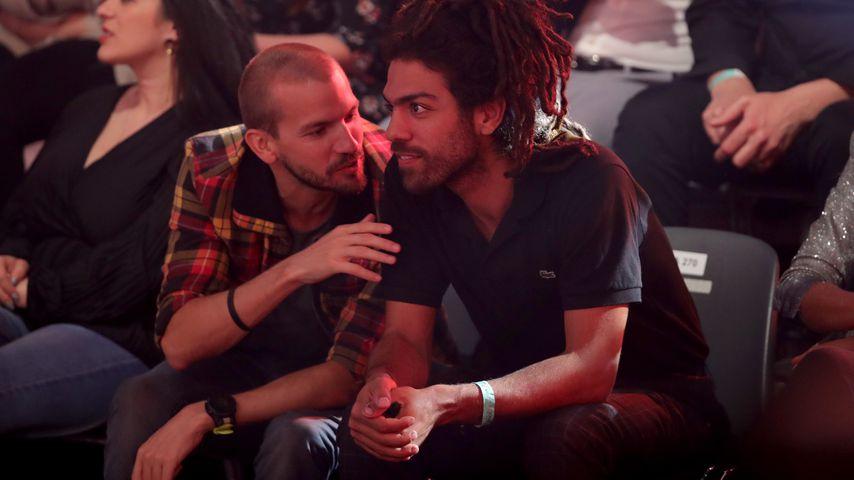 "Juan und Noah Becker im ""Let's Dance""-Publikum"