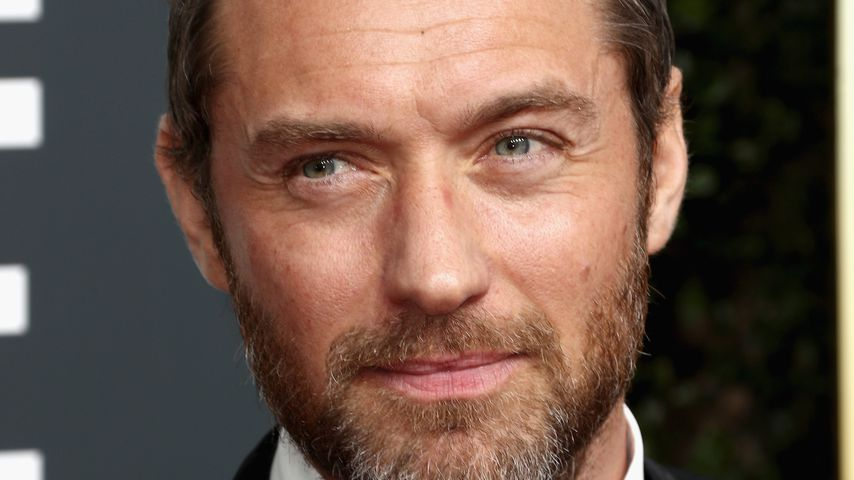 Jude Law bei den Golden Globes 2018