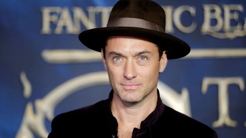 """Jude Law bei der Premiere zu """"Fantastische Tierwesen: Grindelwalds Verbrechen"""""""