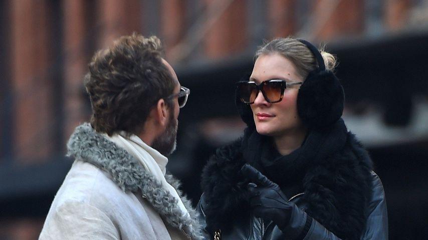 Jude Law und Phillipa Coan 2020