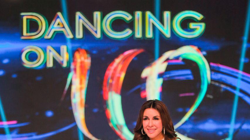 "Judith Williams bei ""Dancing on Ice"""