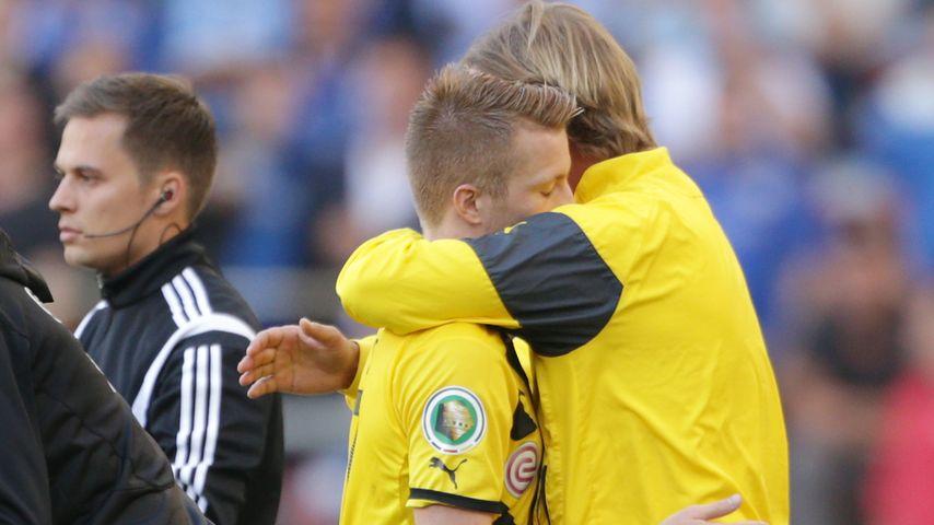 Marco Reus und Jürgen Klopp